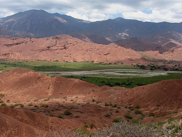 The landscape of Salta