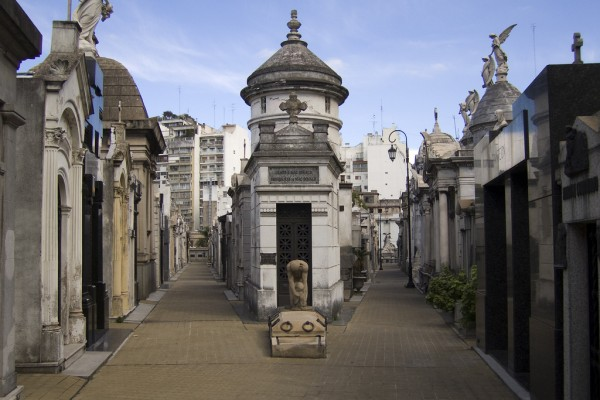 Recoleta Cemetery, photo by Andrew Currie/Flickr