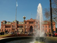 A tour in the Casa Rosada