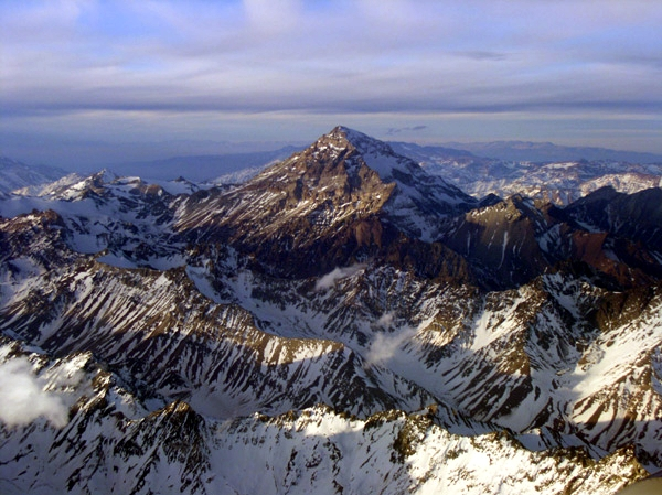 Aerial view over the Aconcagua Mountain en.wikipedia.org
