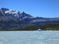 Visit the glacial lakes in Argentina