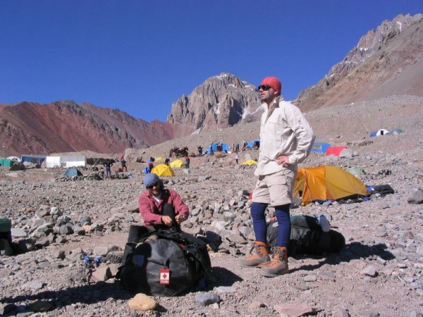 Climbers in the Aconcagua desbiens_jean/Flickr
