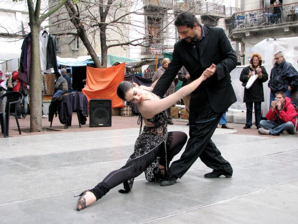 Tango dancers in Buenos Aires anthony arrigo/Flickr