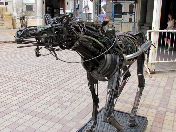 Metal animal sculpture in San Telmo David Berkowitz/Flickr