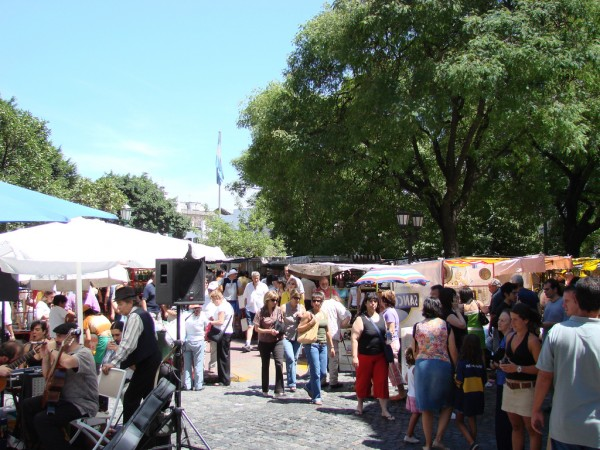San Telmo fair Jeka Toyota/Flickr